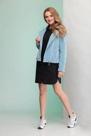 Куртка, платье Angelina & Сompany 346 голубой