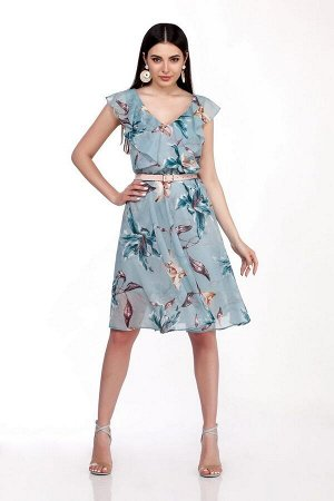 Платье LaKona 1279-1 голубая_лилия