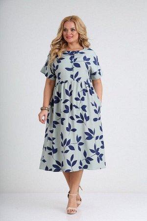 Платье SOVITA 2107 голубой