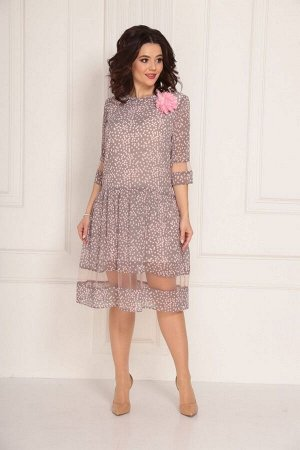 Платье Solomeya Lux 687 розовый