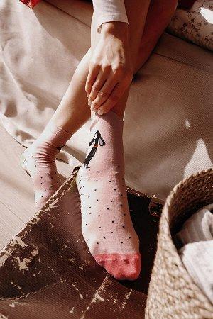 Носки женские С рисунком демисезонные