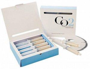 Набор для 5 процедур карбокситерапии. Комплектация: 5 шприцов с гелем-активатором (25 мл) и 5 тканевых масок.