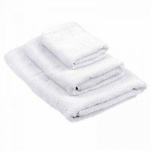 Полотенце махровое 50х90см, отбеленное, 325г/м2, белый (Росс