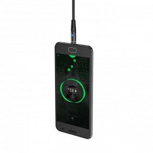 Кабель USB HOCO X60 Honorific, USB - MicroUSB, 2А, 1 м, черный, с магнитным выходом