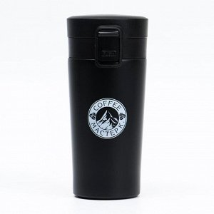 "Термокружка ""Мастер К. Coffee"", 400 мл, сохраняет тепло 6 ч, микс, 7.5х17.5 см"