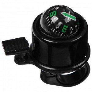 Звонок 14A-05, с компасом, цвет чёрный