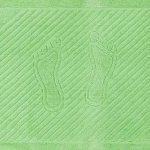 """Полотенце махровое для ног """"Ножки"""". 50*70"""