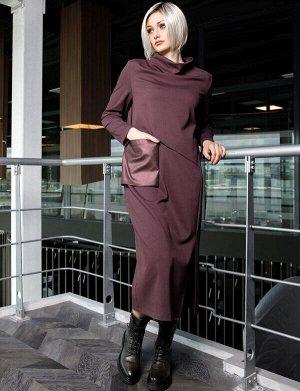 Платье бордо, 65% viscose 32% polyester 3% elastane