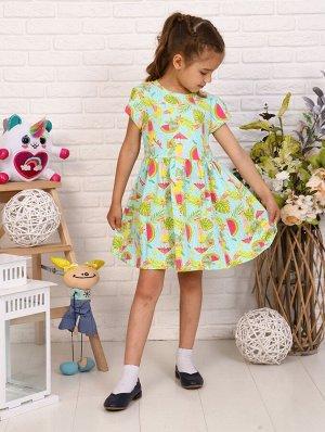 Платье кор. рукав детское