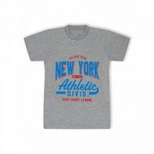 Футболка New York Меланжевый