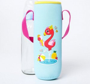 Термосумка для бутылочки «Фламинго» (2269)