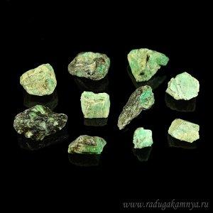 Коллекция из минерала берилл 10шт, 35гр