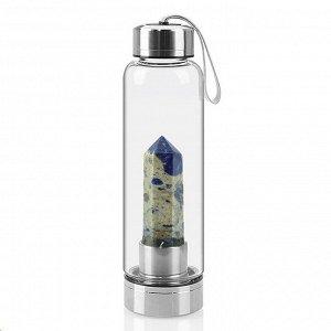 Бутылка для воды с содалитом 70*70*250мм