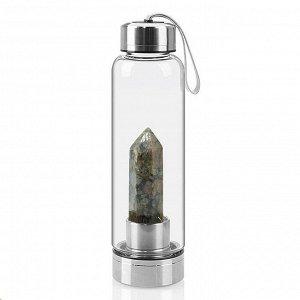 Бутылка для воды с яшмой 70*70*250мм
