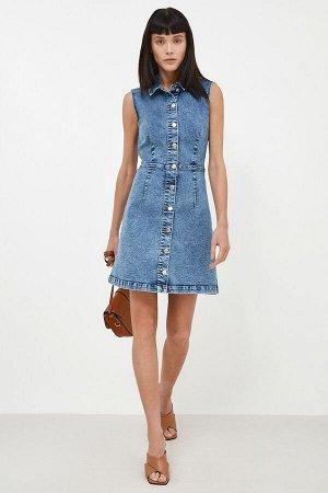 Платье джинсовое жен. Concept Club синий