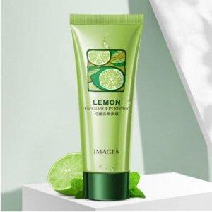Гель-пилинг скатка IMAGES с алоэ вера и экстрактом цитрусов Lemon Exfoliating Repair 120 гр