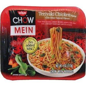 Лапша быстрого приготовления Nissin Cup Chow Mein курица в пикантном соусе-113 гр / США
