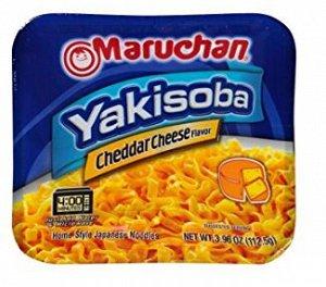 Лапша Maruchan Yakisoba, сыр чеддер 114,6 гр, США