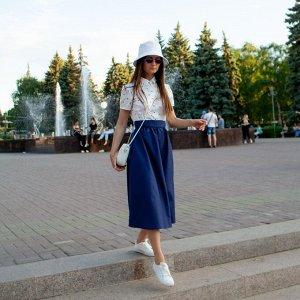 Платье «Синее-белое»