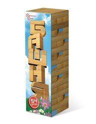 Настольная игра Башня (Дженга) в картонной коробке
