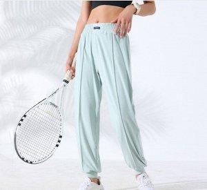 Женские спортивные брюки, цвет зеленый