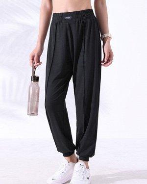 Женские спортивные брюки, цвет черный