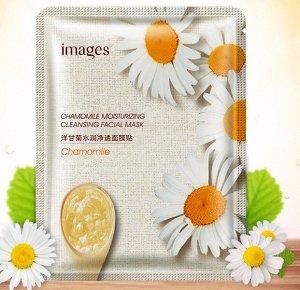 Питательная тканевая маска с экстрактом ромашки IMAGES, 30гр