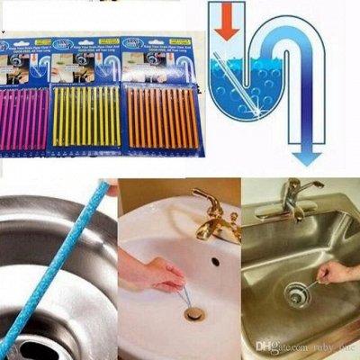 ❤ВАКУУМ+ Товары для кухни, ванной, интерьера итд. Новинки — Палочки для очистки водосточных труб Sani Sticks