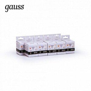 Лампа Gauss Elementary MR16 3.5W 290lm 3000K GU5.3 LED 1/10/100