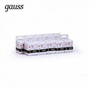 Лампа Гаусс Elementary MR16 5.5W 430lm 3000К GU5.3 LED 1/10/100