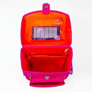 "Ранец TIGER FAMILY для начальной школы, Jolly, ""Pinkie Pie"", ЛИЦЕНЗИЯ, 36х31х19 см, 228972, TGJL-016A"