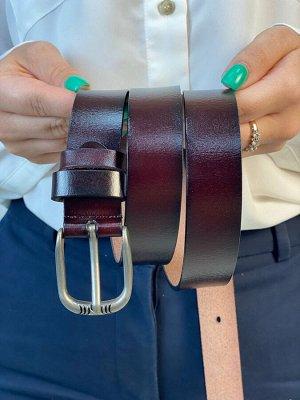 Ремень женский кожаный.
