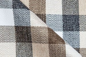 Ткань Thomas Vichy brown