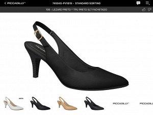 Босоножки Наборный каблук. Черные. Материал/цвет: Lezard  Preto . Высота каблука: 6.5 см