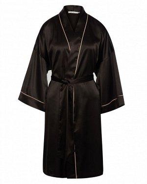 Халат домашний жен. (194007) черный