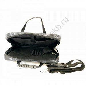 Сумка Д34хШ6хВ26 Сумка под ноутбук , документы формата А4, один основной отдел, внутренние карманы для акксесуаров, отстегивающийся регулируемый плечевой ремень.