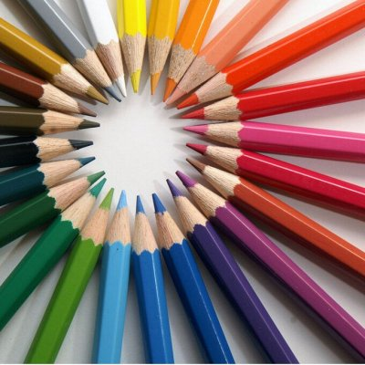 Канцелярия. Все для дома офиса и школы — Цветные карандаши, фломастеры, текстовыделители