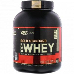 Optimum Nutrition, Gold Standard 100% Whey, сыворотка со вкусом печенья со сливками, 2,1 кг (4,63 фунта)