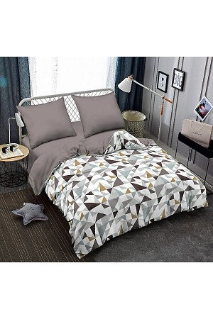 Постельное бельё 1,5-спальный #303233