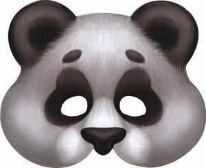 "Картонная маска ""Панда"" на резинке"