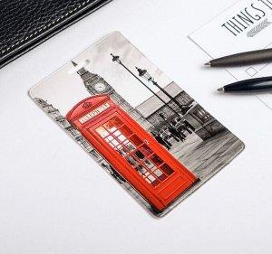 Чехол для бейджа и карточек «Лондон»