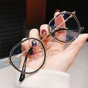 Очки для зрения Черная оправа