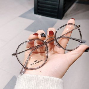 Очки для зрения Серая оправа