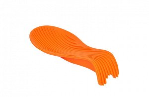 0329 GIPFEL Подставка под ложку. Материал: силикон. Цвет: оранжевый. Размер: 22,5х10,5х4,5 см