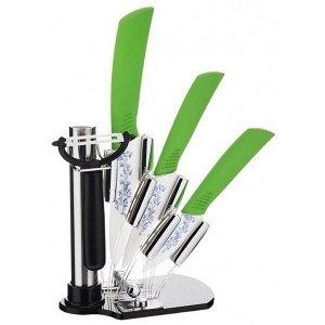 Набор керамических ножей на подставке Mayer&Boch MB-21861