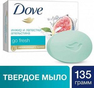 ДАВ крем-мыло 135гр.Инжир и лепестки апельсина