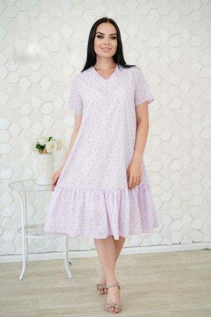 Платье Хлопковое платье - 105 см, атласный подклад - 85 см