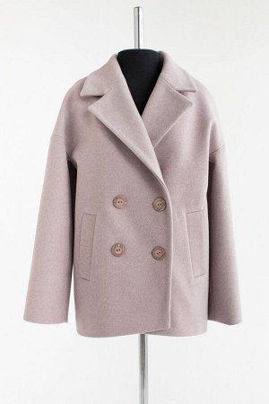 Пальто Длина по спине: 70 см. Длина рукава от горловины: 73 см. Подкладка: Полиэстер, Ткань: Пальтовая. Вид застежки: Пуговицы.