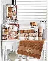 """Набор кухонных полотенец """"Premium Vianna"""" Кофе"""" 2шт, 45х65см V0000117"""