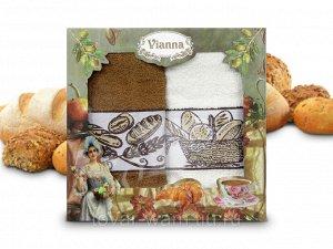 """Набор кухонных полотенец """"Vianna"""" Хлеб"""" 2шт, 30х50см V0000094"""